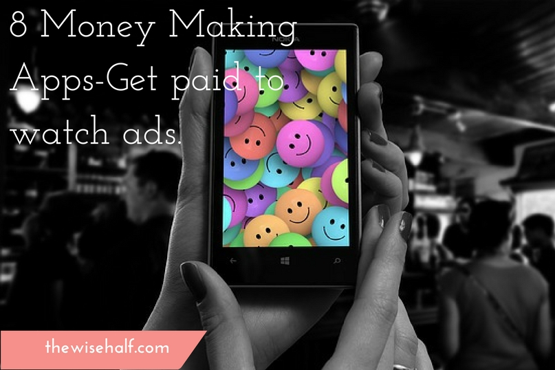 8 money making apps that you must download  Get paid to