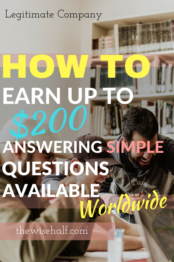 make money answering questions