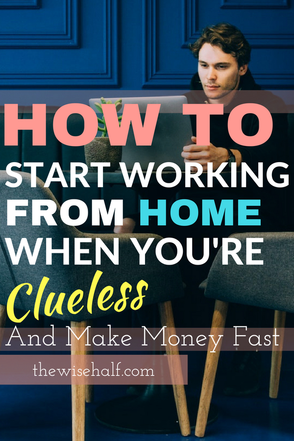 work at home beginner's guide - the wise half