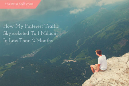 Pinterest Traffic strategy - the wise half