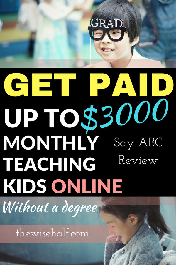 Get Paid To Teach English From Home