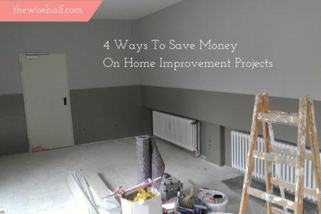 save money on home improvement