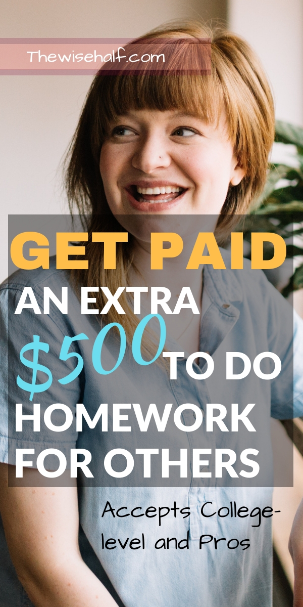 get paid to do homework- the wise half - tutoring companies (1)